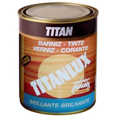 BARNIZ TINTE SINT BR CAOBA TITANLUX 125 ML