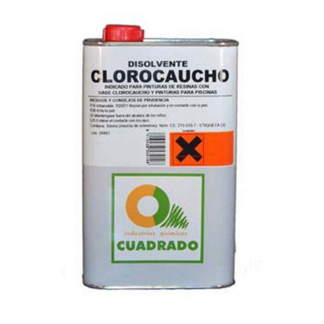 DISOLVENTE CLOROCAUCHO CUADRADO 1 L