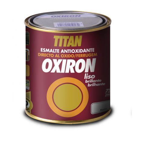 ESMALTE ANTIOXIDO LISO BLANCO OXIRON 750 ML