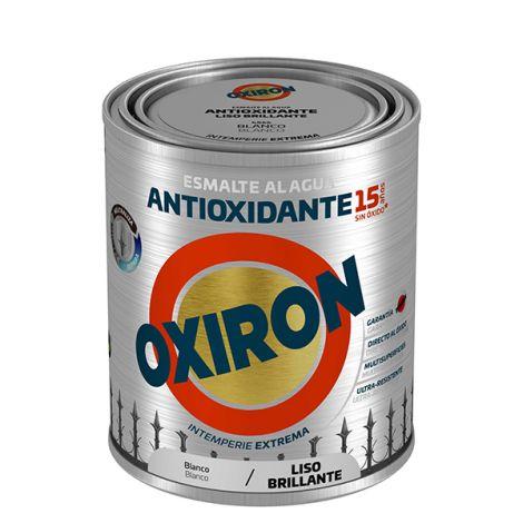 ESMALTE LISO BR AL AGUA AZ LUM OXIRON 750 ML