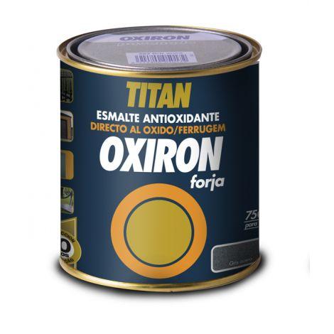 ESMALTE ANTIOXIDO FORJA GRIS OXIRON 750 ML