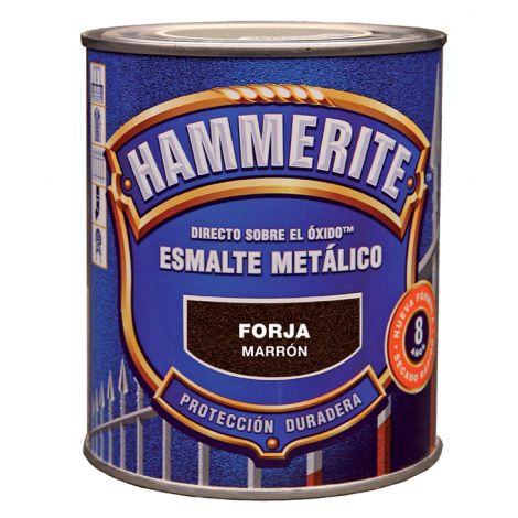 ESMALTE ANTIOXIDO FORJA GRIS HAMMERITE 750 ML