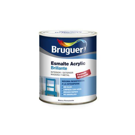 ESM ACRYLIC BR AMARILLO LIMON BRUGUER 250 ML