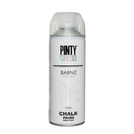 BARNIZ SPRAY TIZA MATE AGUA PINTY PLUS 400 ML