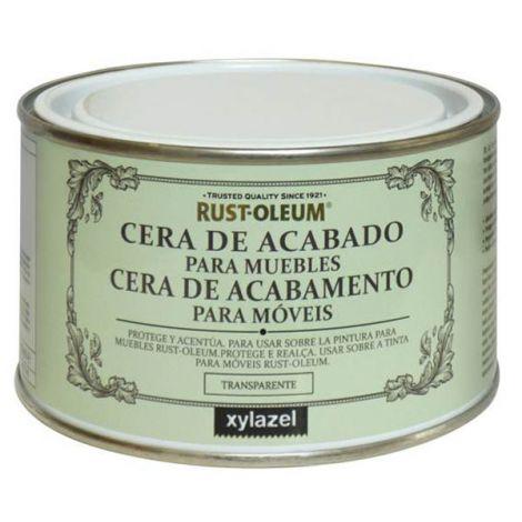 CERA ACABADO MUEBLES OSCURA XYLAZEL 400 ML
