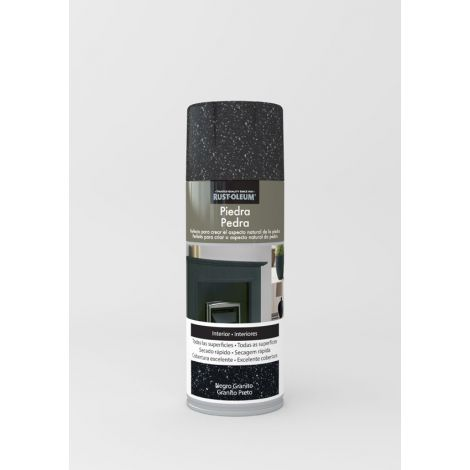 PINTURA SPRAY EF.PIEDRA NEGRO XYLAZEL 400 ML