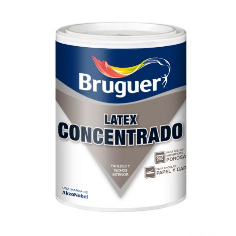 LATEX CONCENTRADO BLANCO BRUGUER 4 L