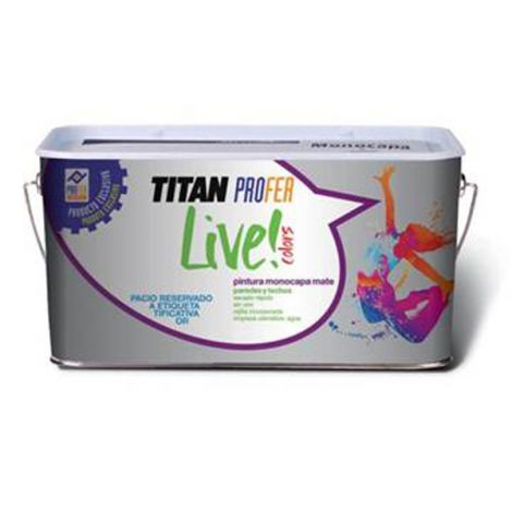 PINTURA PLAST.MATE AMARIL.SOFT PROFER LIVE 4 L