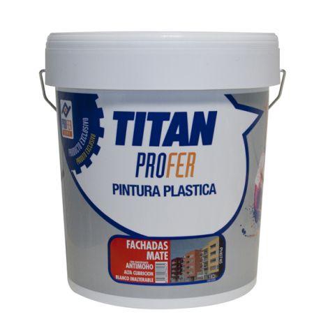 PINTURA PLASTICA FACHADAS MATE TITAN PROFER 5 KG