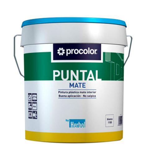 PINTURA PLASTICA MATE PUNTAL PROCOLOR 4 L