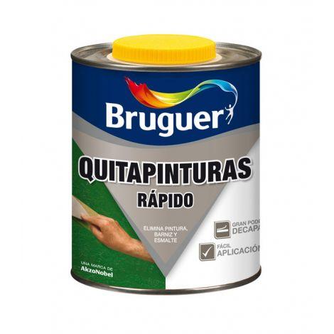 QUITAPINTURAS RAPIDO INCOLORO BRUKIT 1 L