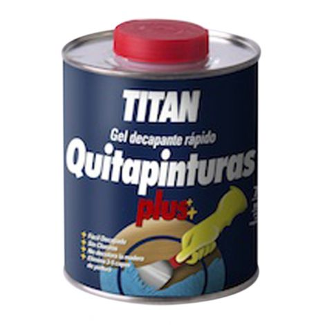 QUITAPINTURAS PLUS TITAN 4 L