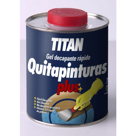 QUITAPINTURAS PLUS TITAN 750 ML