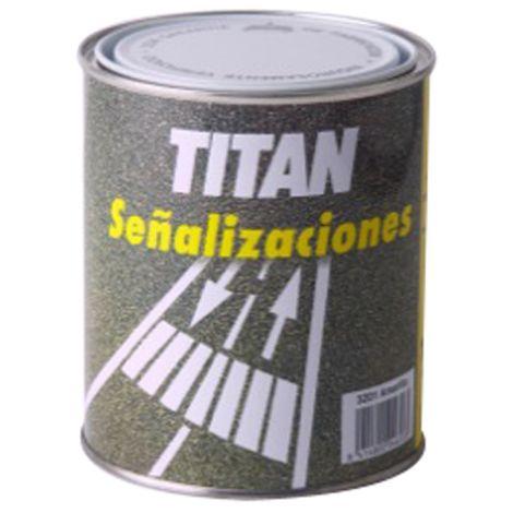 PINTURA SUELOS TRAFICO AMARILL TITAN 4 L